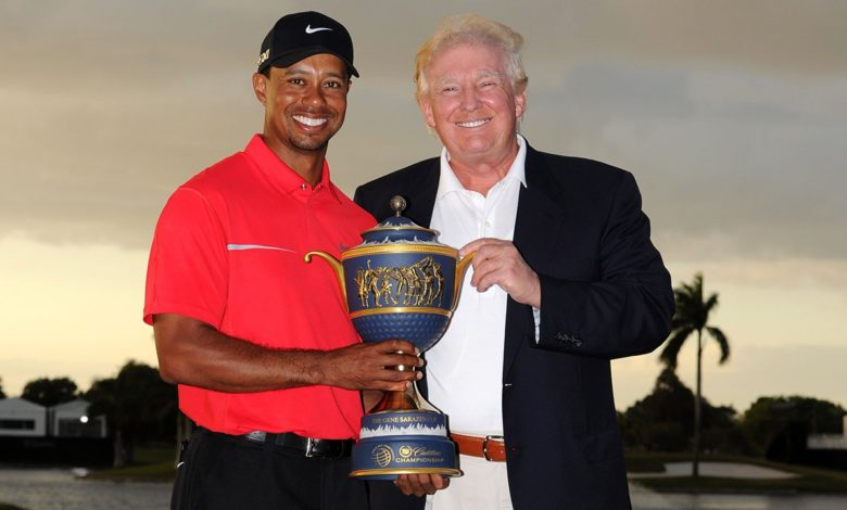 Trump Tiger Woods hRYpU7now-trending