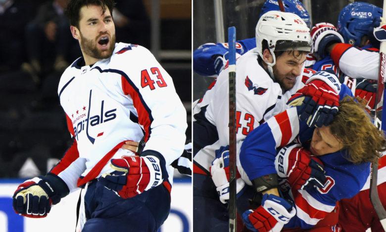 Tom Wilson fined 5000 NHL Capitals Rangers x2DeWNnow-trending