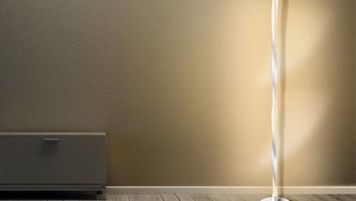 Lamp Depot Minimalist LED Spiral Floor Lamp zXFBODnow-trending