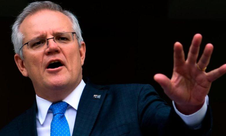 210910144441 australian prime minister scott morrison parliament coal climate 0909 file super 169 C6GK6enow-trending