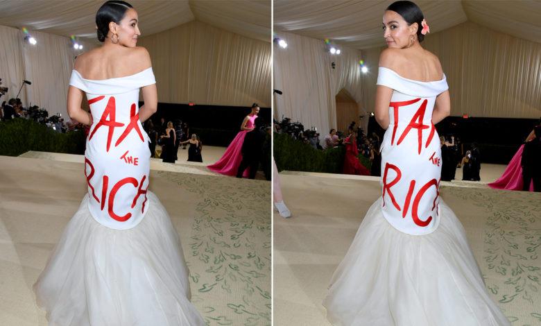 AOC tax the rich met gala dress PEYY1anow-trending
