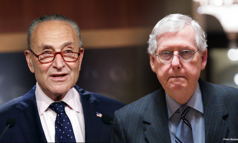 Schumer McConnel faceoff YxPYYanow-trending